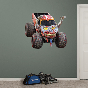 Zombie Fathead Wall Decal