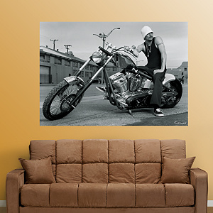 Kid Rock - Motorcycle Mural Fathead Wall Decal