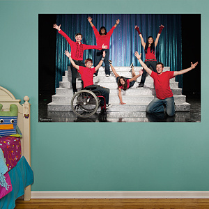 Glee Mural  Fathead Wall Decal
