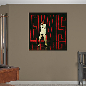 Elvis Presley – '68 Comeback Special Album Cover Mural Fathead Wall Decal