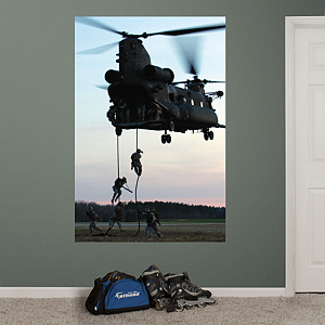 United States Army Special Operations Command Mural Fathead Wall Decal