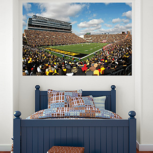 Iowa Hawkeyes - Kinnick Stadium Mural Fathead Wall Decal