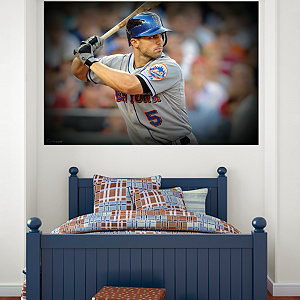 David Wright Mural Fathead Wall Decal