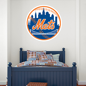 New York Mets Logo Fathead Wall Decal