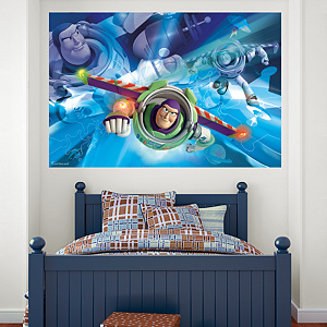 Buzz Lightyear Mural Fathead Wall Decal