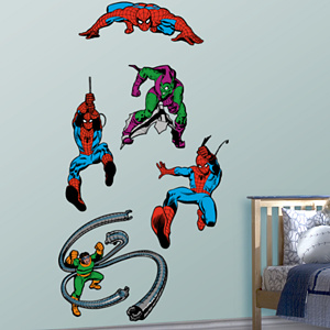 Classic Spider-Man Fathead Wall Decal