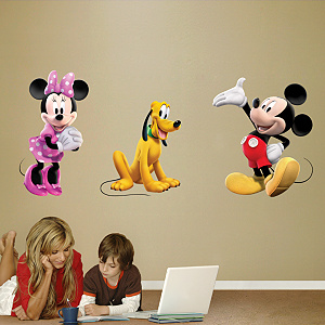 Mickey, Minnie & Pluto