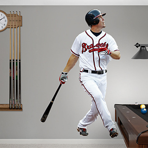 Chipper Jones - Third Baseman Fathead Wall Decal