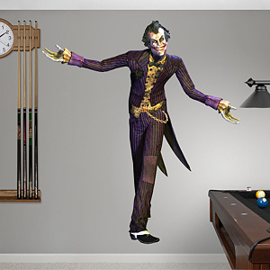 Joker: Arkham City  Fathead Wall Decal