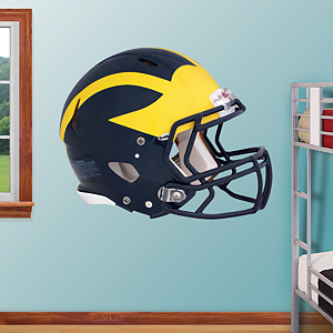 Michigan Wolverines 2012 Helmet Fathead Wall Decal