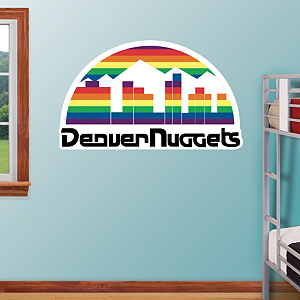 Denver Nuggets Classic Logo Fathead Wall Decal