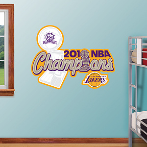 Los Angeles Lakers 2010 NBA Champions Logo