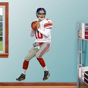 Eli Manning - Quarterback Fathead Wall Decal