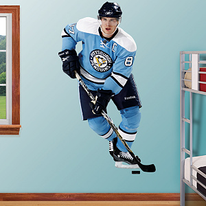 Sidney Crosby Throwback Fathead Wall Decal