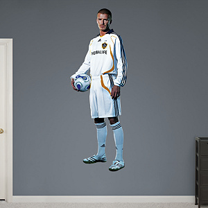 David Beckham Fathead Wall Decal
