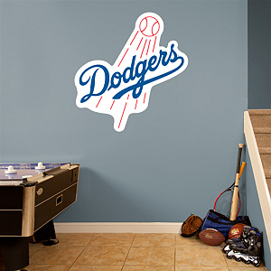 Los Angeles Dodgers Logo Fathead Wall Decal