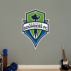 Seattle Sounders FC Logo Fathead Wall Decal