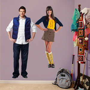 Rachel and Finn Fathead Wall Decal