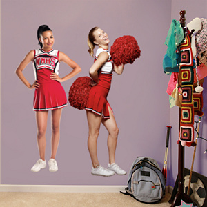 Brittany and Santana Fathead Wall Decal