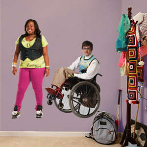 Artie and Mercedes Fathead Wall Decal