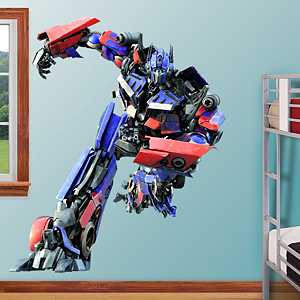 Optimus Prime Fathead Wall Decal