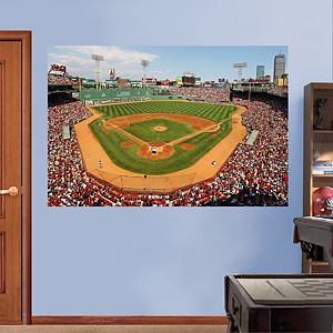 Inside Fenway Park Mural Fathead Wall Decal