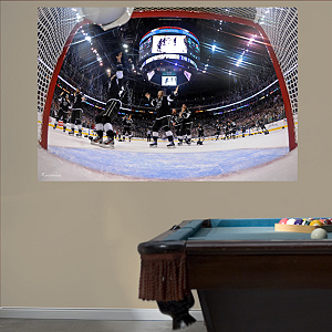 Los Angeles Kings Net Stanley Cup Mural