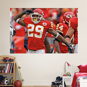 Eric Berry Salute - In Your Face Mural