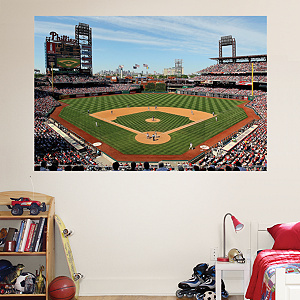 Inside Citizens Bank Park Mural