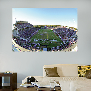 TCU - Amon G. Carter Stadium Mural Fathead Wall Decal