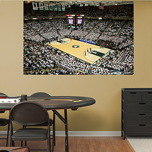 Michigan State Basketball Mural - Breslin Center Fathead Wall Decal