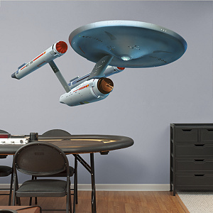 U.S.S. Enterprise NCC-1701 Fathead Wall Decal