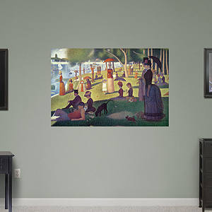 Sunday Afternoon on the Island of La Grande Jatte by Georges Seurat Fathead Wall Decal