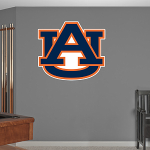 Auburn Tigers Logo Fathead Wall Decal