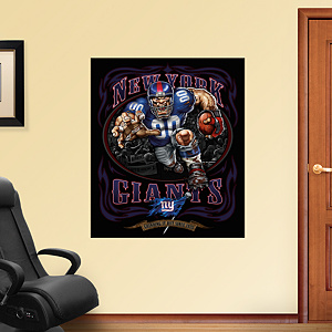 Defiant Giant - Grinding It Out Mural Fathead Wall Decal