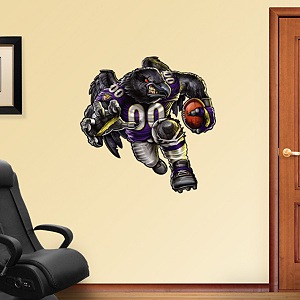 Rampaging Raven Fathead Wall Decal