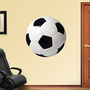 Assorted Soccer Graphics Fathead Wall Decal