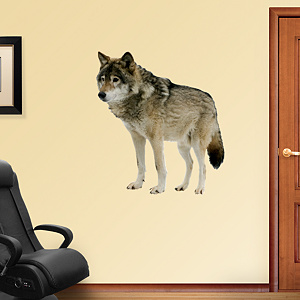 Wolf Fathead Wall Decal