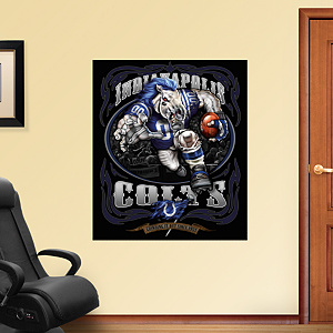 Crazed Colt - Grinding It Out Mural Fathead Wall Decal