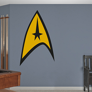 Star Trek: The Original Series Insignia Fathead Wall Decal