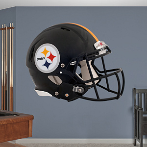 Pittsburgh Steelers Helmet Fathead Wall Decal