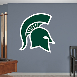 Michigan State Spartans Logo Fathead Wall Decal