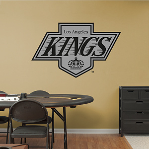 Los Angeles Kings Vintage Logo Fathead Wall Decal