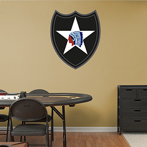 2nd Infantry Insignia Fathead Wall Decal