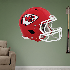 Kansas City Chiefs Helmet Fathead Wall Decal