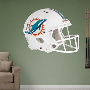 Miami Dolphins 2013 Helmet Fathead Wall Decal