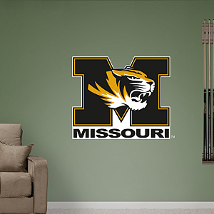 Missouri Tigers Logo Fathead Wall Decal