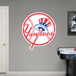 New York Yankees Circle Logo  Fathead Wall Decal
