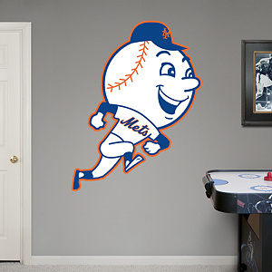 New York Mets Classic Logo Fathead Wall Decal