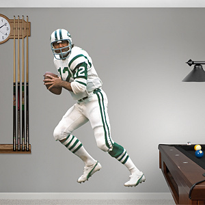 Joe Namath Fathead Wall Decal